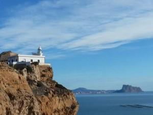 Spaans leren in Spanje, vuurtoren Albir